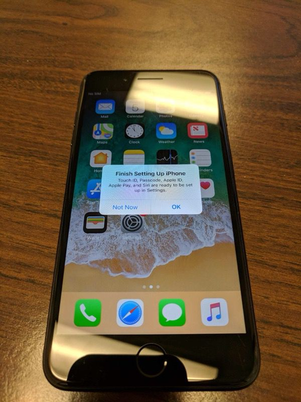T-mobile / Straight talk Matte Black IPhone 7 Plus 32gb for Sale in  Niceville, FL - OfferUp