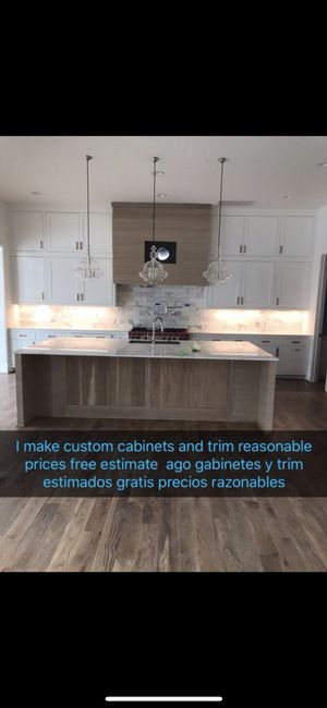 Cabinets and trim for Sale in Houston, TX