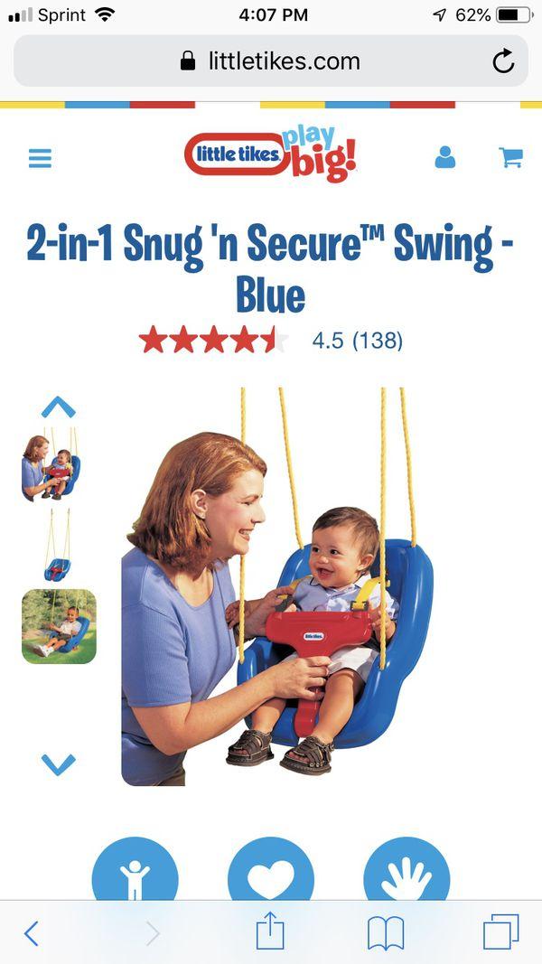 Little Tikes 2 In 1 Snug N Secure Baby Swing For Sale In