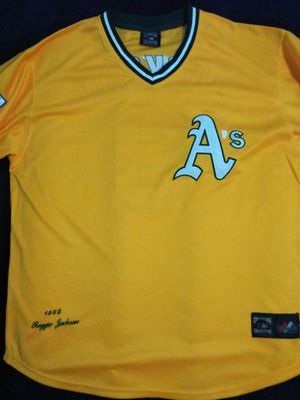 Reggie Jackson Oakland A's Jersey XL for Sale in Atlanta, GA