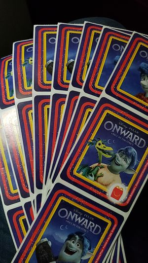 Photo Brand New McDonalds Onward stickers
