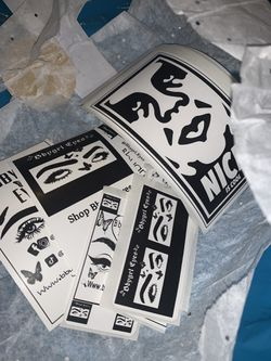 Custom stickers and labels and business cards Thumbnail