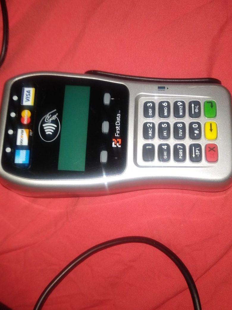 First Data Credit Card Machine New