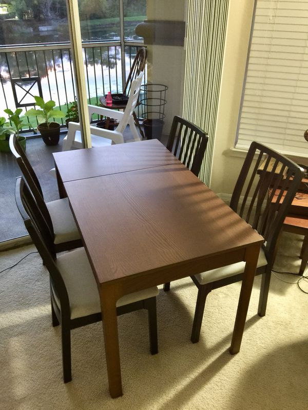 Ikea Ekedalen Dining Extendable Table For Sale In Thonotosassa Fl Offerup