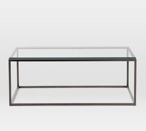 Rectangle glass top coffee table for Sale in Arlington, VA