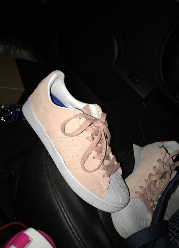 7f48c95b98e8 adidas Superstar Vulc ADV Pastel Pink Shoes for Sale in Charlotte ...