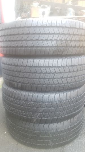 Four good set of Goodyear tires for sale 265/60/20 for Sale in Washington, DC