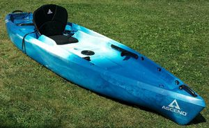 Ascend FS12T Sit-On-Top Angler Kayak - Blue for Sale in Knoxville, MD