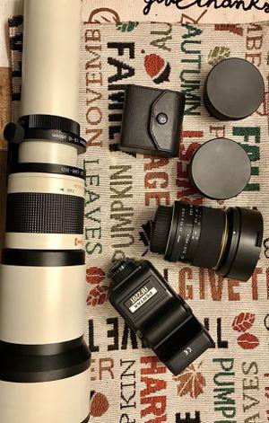 Nikon lenses for Sale in Hinsdale, IL