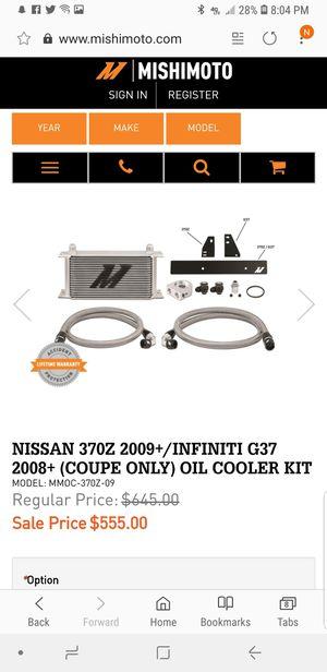 Mishimoto thermostatic oil cooler for Sale in Hampshire, IL