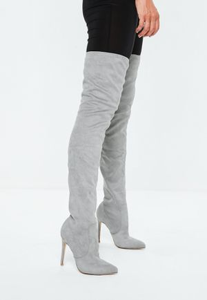 Pointed toe over the knee heeled boots for Sale in Hyattsville, MD