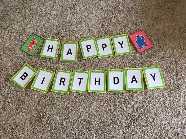 Elmo 2nd Birthday Decorations