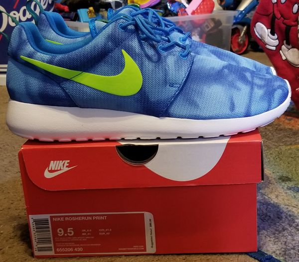 promo code a9406 3b24c Nike roshe run tye dyed Sz 9.5! DS  Pickup only!   I ignore all  lowballers!!!!!!!