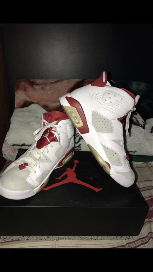 "0d1d3684d3cd9c Air Jordan 6 ""Alternate 91"" Sz 13 12.5 (Clothing   Shoes) in Antioch ..."
