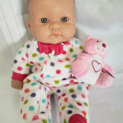 Berenguer Chubby Baby With Pijamas 13.5 in Thumbnail