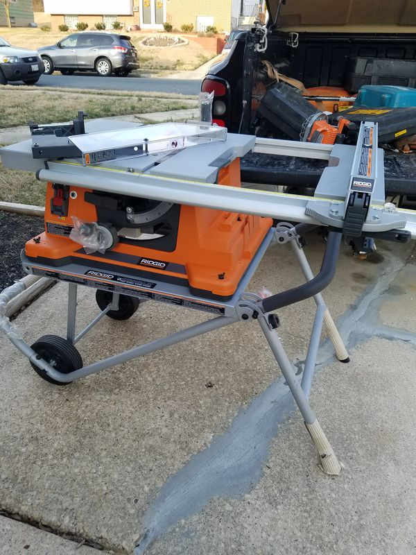 Ridgid Ts2400 1 Table Saw New Never Used For In Windsor