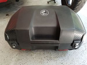 Hepko and Becker rear cargo bag for Motorcycles wirh mounting bracket for BMW for Sale in Ellicott City, MD