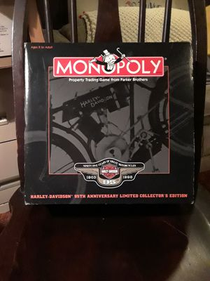 Harley Davidson 95th monopoly for Sale in Clairton, PA