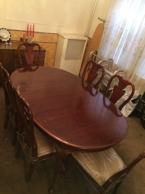 Thomasville Winston Court Dining Set Furniture In Queens NY