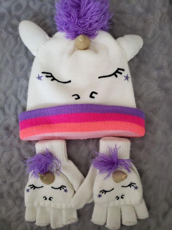Unicorn Gloves and Winter Hat for Sale in Olympia e1f2b147e25