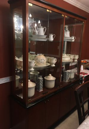 China Cabinet (contents inside are sold separately) for Sale in Silver Spring, MD