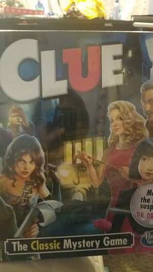 CLUE HASBRO GAME for Sale in Kent, WA