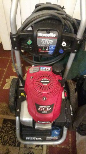 Honda-homelite 2700 psi 2.3 gpm for Sale in Tacoma, WA
