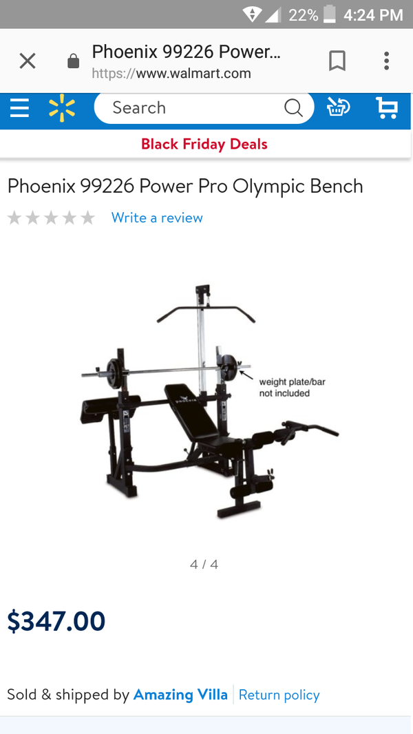 Phoneix Olympic Bench For Sale In Los Angeles Ca Offerup