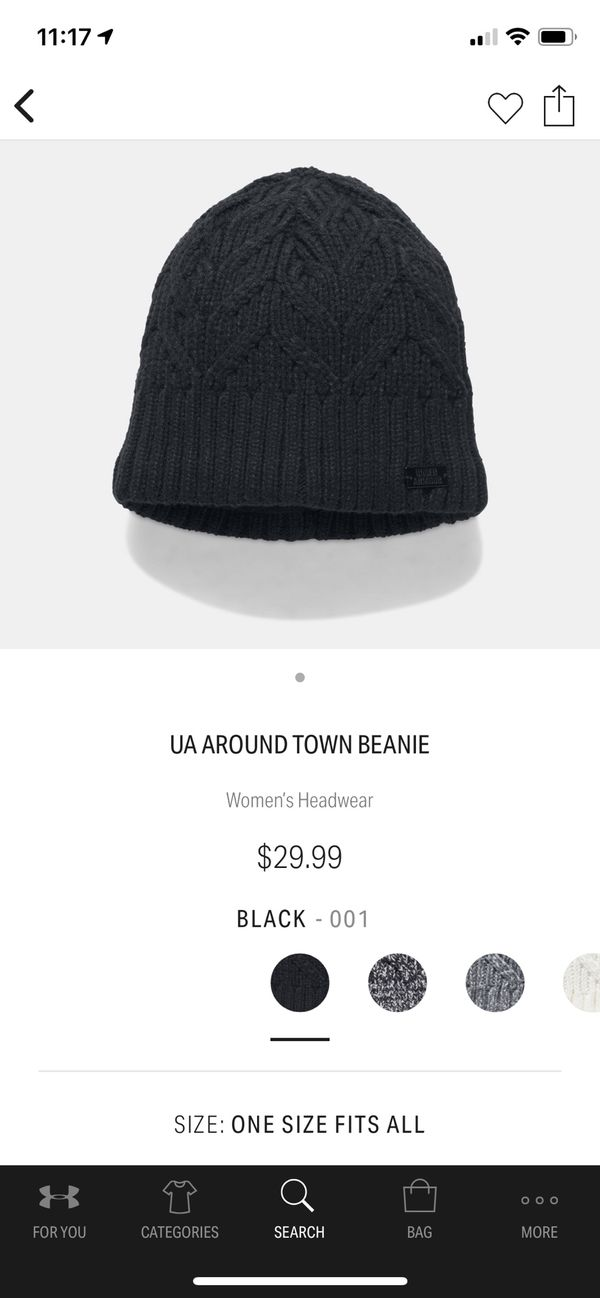a73f391bc8aad Under Armor UA AROUND TOWN BEANIE for Sale in Graham