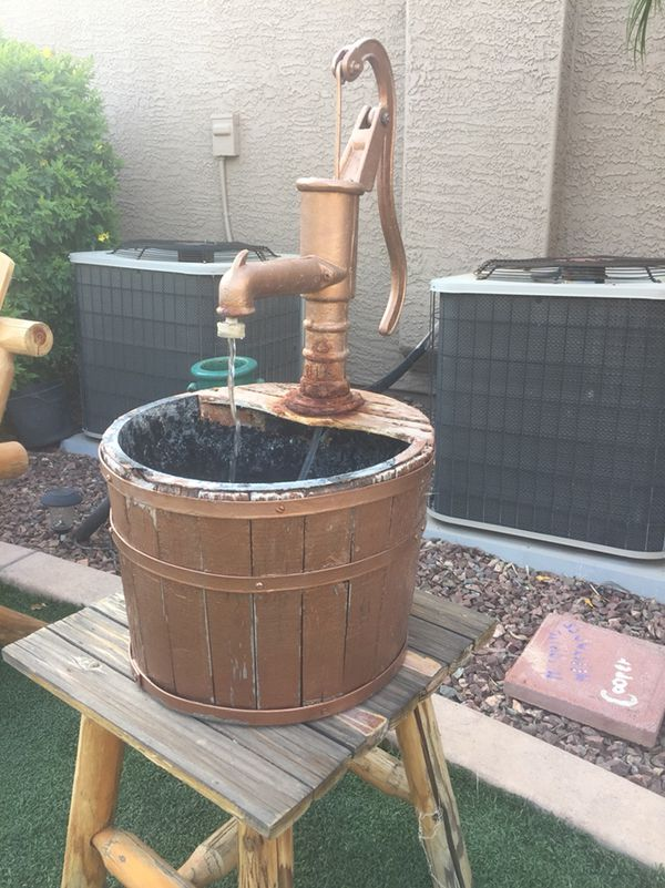 We D Purchased Our Fountain Pump From If You Are Making A I Remend Do The Same Way Er On There And All Had To Was