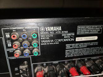 Yamaha Natural AV Receiver HTR-5740 Thumbnail