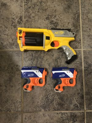 Nerf guns set of 3 for Sale in Leesburg, VA
