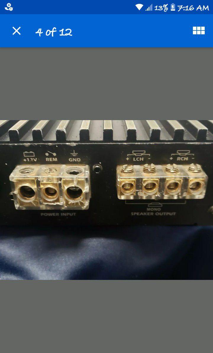 Power Acoustics Amp