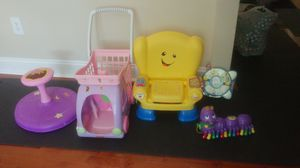 Stroller toys and chair for Sale in Alexandria, VA