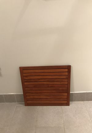 CB2 teak bath mat for Sale in Chevy Chase, MD