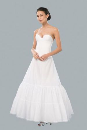 David's bridal A-Line slip worn under wedding dress for Sale in Takoma Park, MD