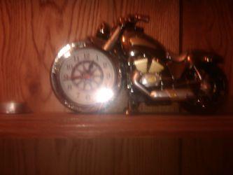 Motorcycle clock Thumbnail