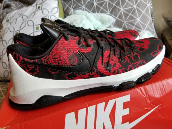 info for 1c405 4c61c Nike KD 8 Ext  Red Floral  for Sale in Lauderhill, FL - OfferUp