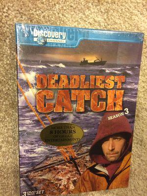 Deadliest Catch DVDs (season 3) for Sale in Rockville, MD