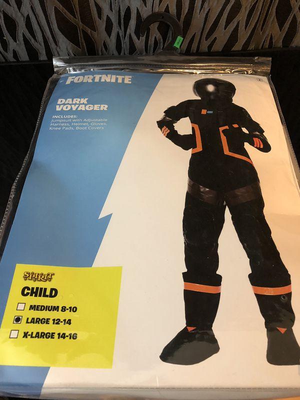 Spirit Halloween Fortnite Costumes For Kids.Fortnite Halloween Costume Dark Voyager Complete W Helmet Child Size L Large For Sale In San Francisco Ca Offerup