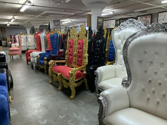 Beautiful throne chaise lounge.$2200. Best offer Thumbnail