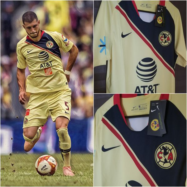 New 2018 19 Liga Mx Club America Home Jersey for Sale in McAllen 4b103d1bd