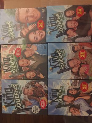 DVD series - King of Queens 1 - 6 for Sale in Germantown, MD