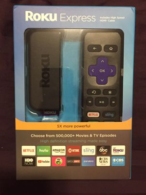 NEW Roku Express for Sale in Tacoma, WA