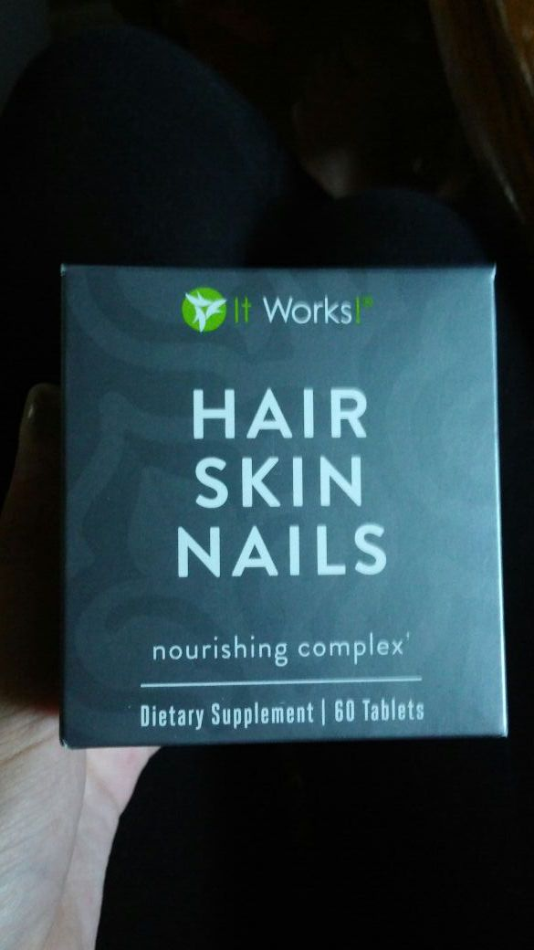 It Works Hair Skin Nails Supplement (Beauty & Health) in Livermore ...