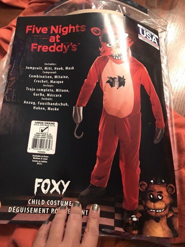 Fnaf Kids Costume For Sale In El Paso Tx Offerup