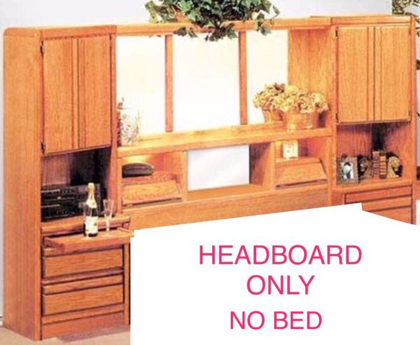 King Bed Wall Unit.Solid Wood Maple King Size Wall Unit Headboard Storage For