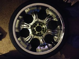 20in chrome universal rims for Sale in Washington, DC