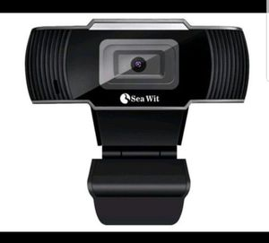 HD USB Webcam Mini Camera with Mic for Laptops and Desktop for Sale in Riverside, CA