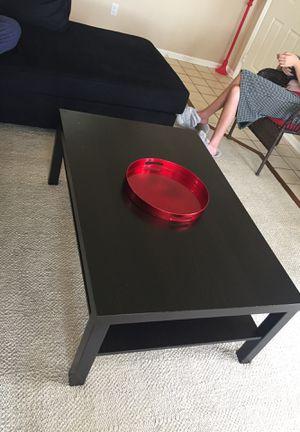 Black coffee table for Sale in Alexandria, VA